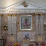 Vestimenta de la Virgen del Rosario de Cicacalco