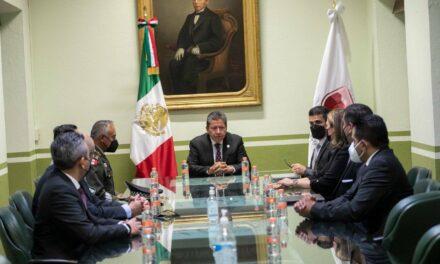 Mesa Estatal de Construcción de Paz y Seguridad cumplimentó orden de cateo en Machines, Zacatecas