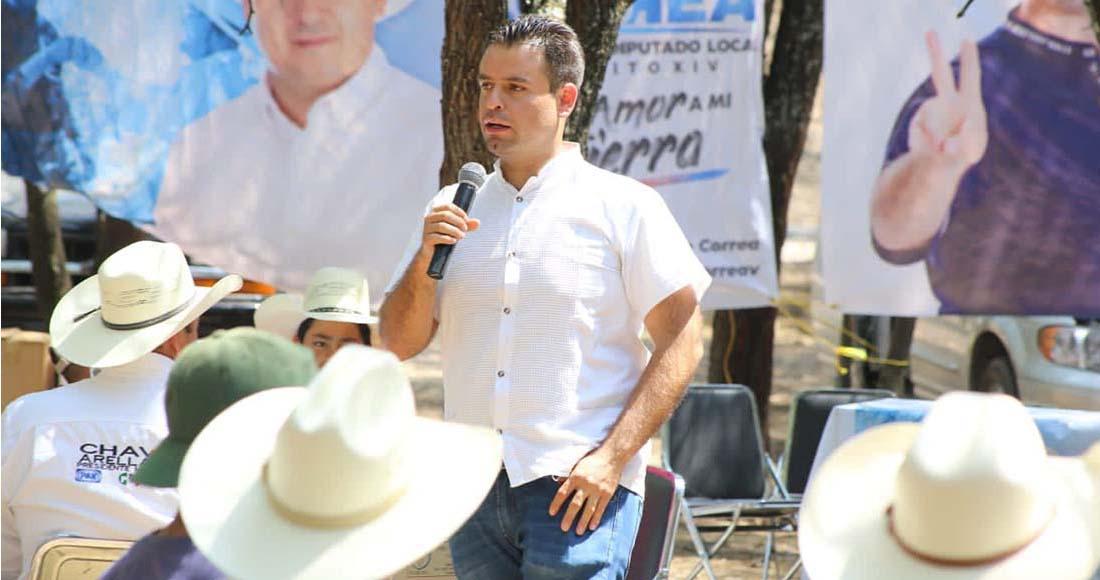 Miguel Varela ha Visitado Tres o Mas Veces Los Municipios de su Distrito