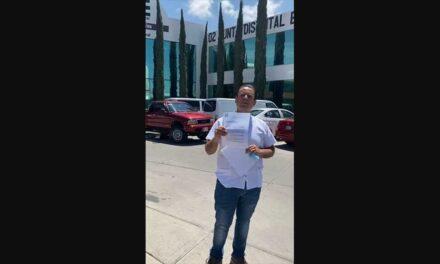 Presenta Miguel Varela nueva solicitud de debate a Diputado Federal